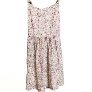Garage Sweet Cream Berry Bustier Dress Size XS